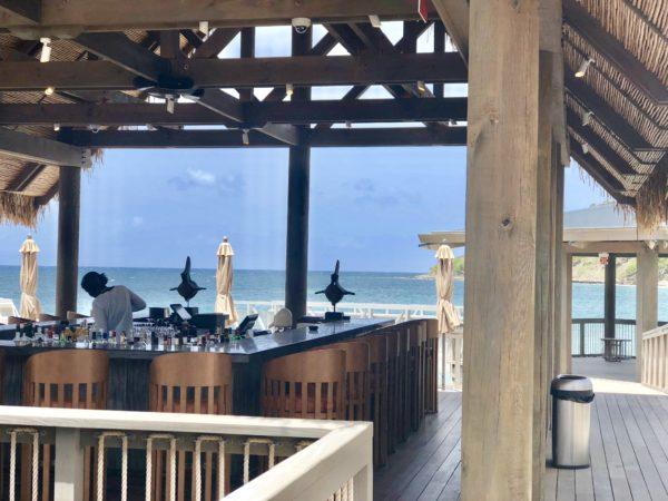 Bar at Fisherman's Village at the Park Hyatt St. Kitts
