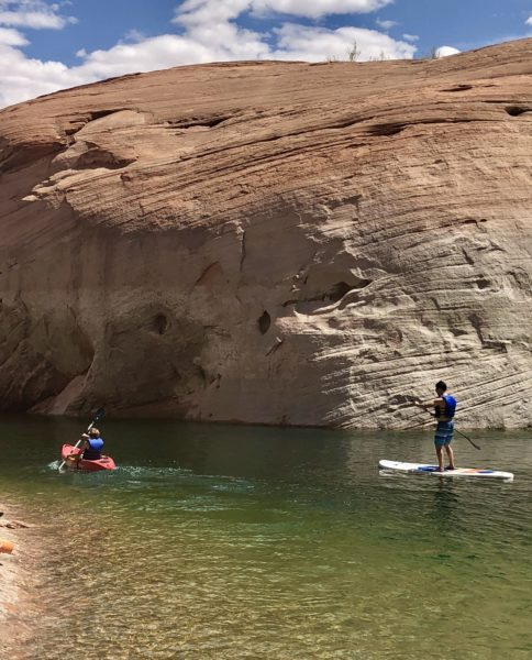 SUP on Lake Powell