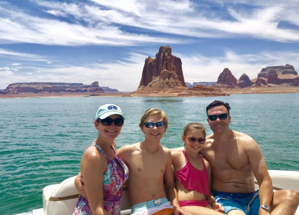 Stunning scenery at Lake Powell