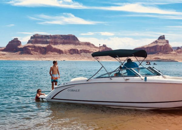 Lake Powell private boat charter