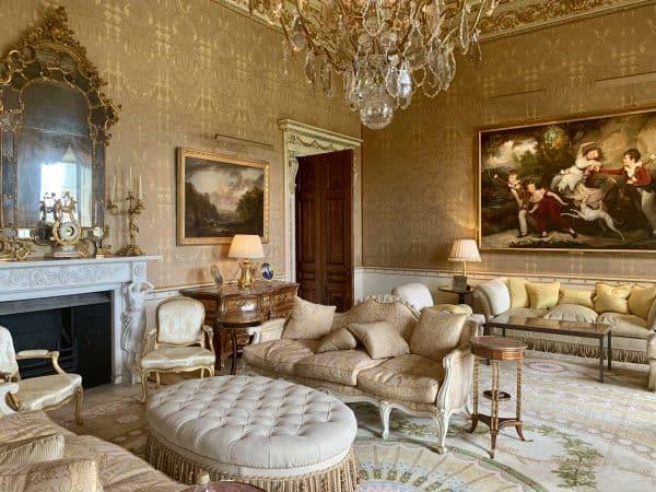 "Ballyfin's stunning ""Gold Room"""